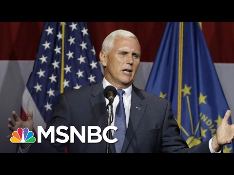 The Most Dangerous Man In President Trump's World Is VP Mike Pence | The Last Word | MSNBC
