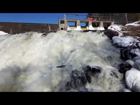 Waterfalls - High Falls waterfalls and dam Bancroft Ontario