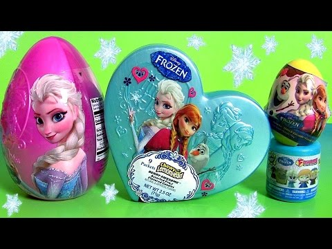Thumbnail: Mega FROZEN TOYS SURPRISE Complete Collection All About Disney Princess Anna Olaf Elsa Kristoff