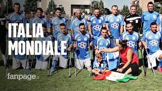 Calcio amputati, la Nazionale italiana ai mondiali in Messico: