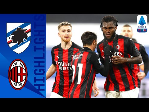 Sampdoria AC Milan Goals And Highlights