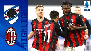 Sampdoria 1-2 Milan | Milan Move Five Points Clear at the Top of the League! | Serie A TIM