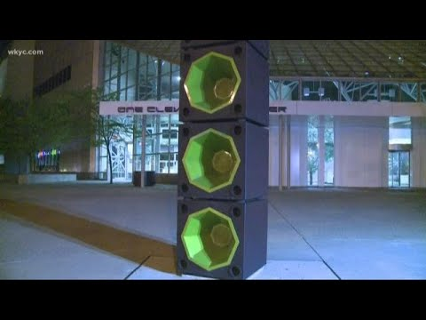 Big 95 Morning Show - Rock Hall outdoor speakers malfunction and blast music all night