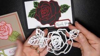 Stampng T!   Rose Garden Thinlit Die