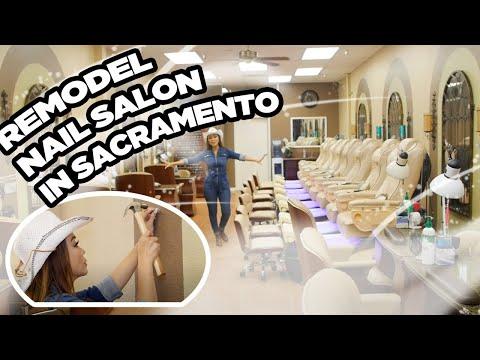 Nails Today Show™ with Di Ai Hong Sam - Remodeling Nail Salon Ep 1/ Sacto Nails in Sacramento