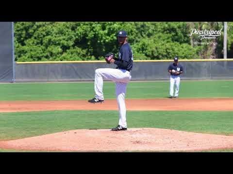 4K Video, Luis Medina, Right-Handed Pitcher, March 17