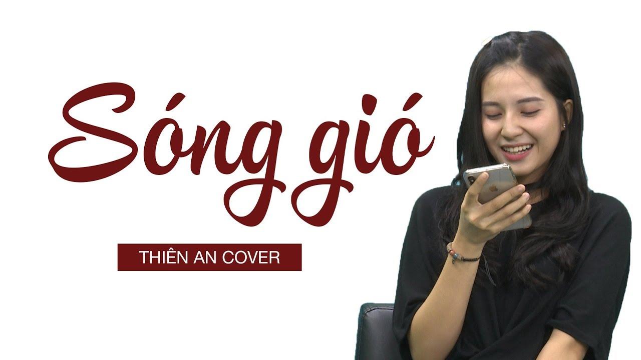 Diễn viên Thiên An trổ tài ca hát bài SÓNG GIÓ