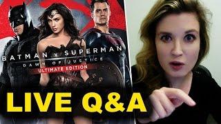 Batman  v Superman Ultimate Edition REVIEW Q&A