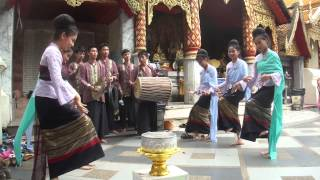 THAI TRADITIONAL NAIL DANCING IN CHAING MAI 01