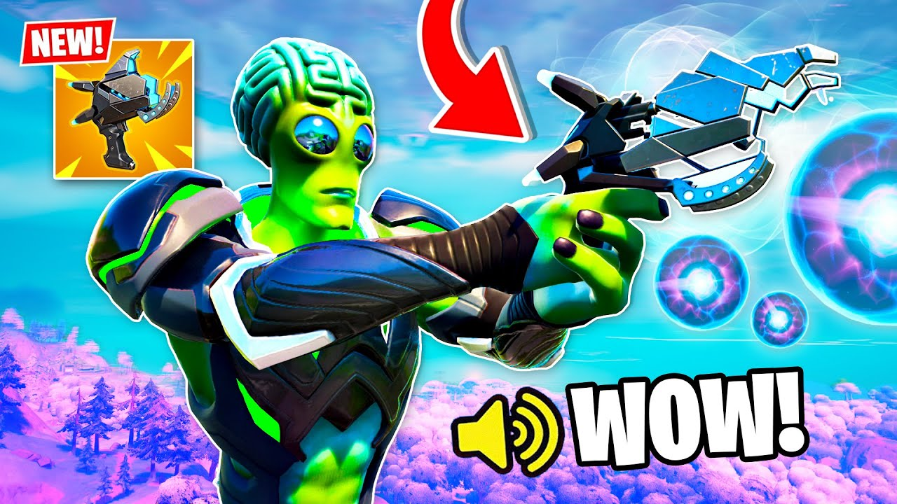 Download New *PLASMA CANNON* UPDATE in FORTNITE! (Overpowered)