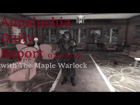 Appalachia Daily Report 01/08/19 with The Maple Warlock