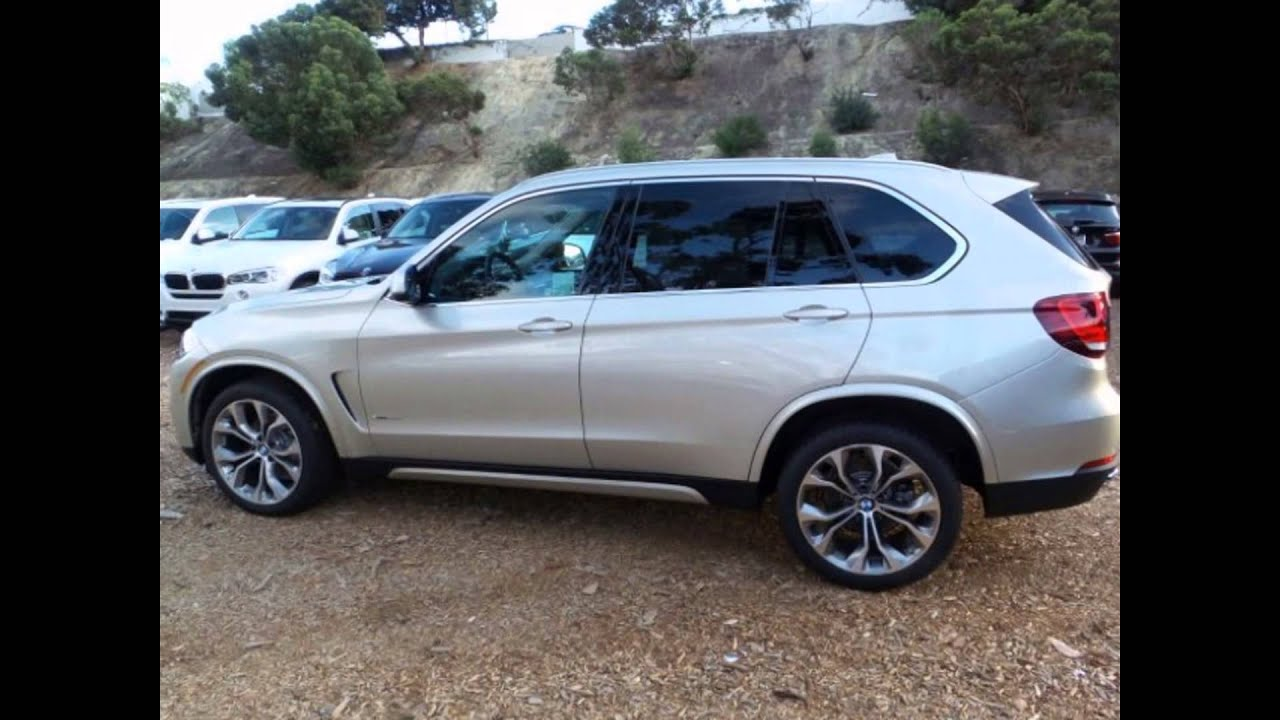 2016 Bmw X5 Xdrive35i Mineral Silver Metallic Youtube