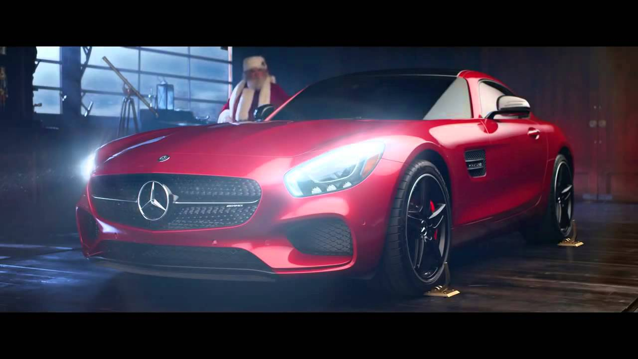 Mercedes benz christmas time commercial video for Mercedes benz commercial