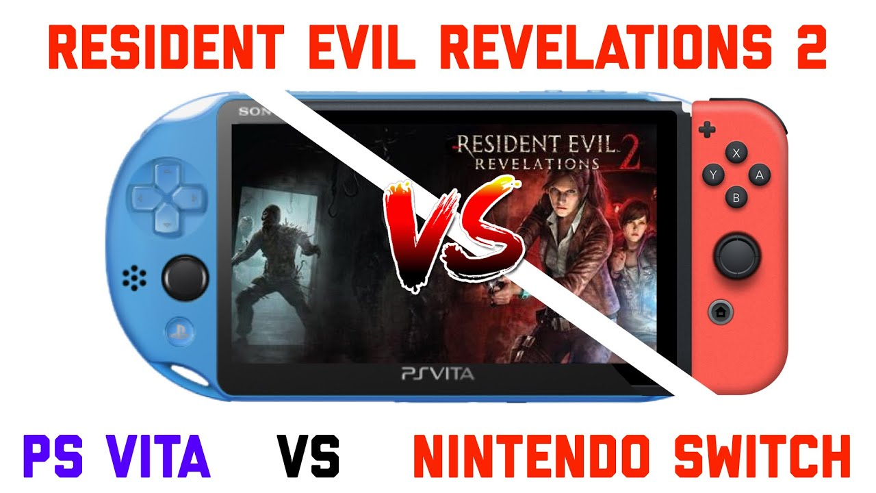 Resident Evil Revelations 2 PS Vita / Nintendo Switch Comparison (PSVita)
