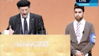 What has Islam given to Germany, German (Deutsch) speech with Urdu translation, Jalsa Germany 2011