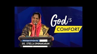 God's Comfort (English - Hindi) | Part 2 | Sis. Stella Dhinakaran