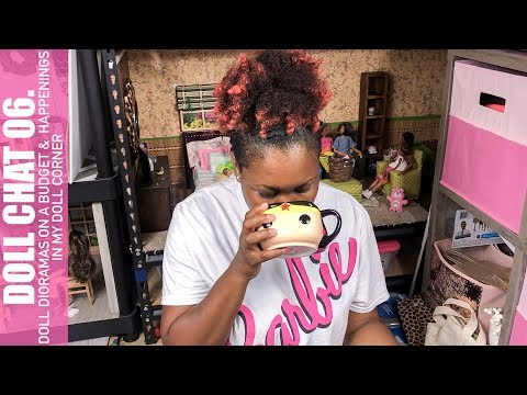 Doll Chat 06. | Barbie Doll Dioramas On A Budget | Dauhl House TV