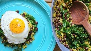 Kale & Quinoa Stir-fry | Healthy Lunch Ideas