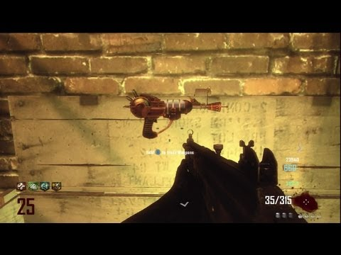how to get the ray gun on black ops 1