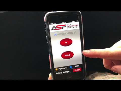 Product Review Of The All NEW All Seasons Feeder WiFi App: Feed Synch Remote