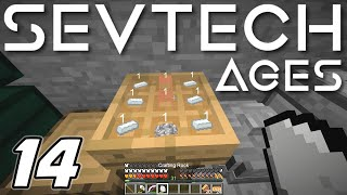 Minecraft Sevtech: Ages - MILL STONE, CRANK and PORCELAIN (Modded Survival) - Ep. 14