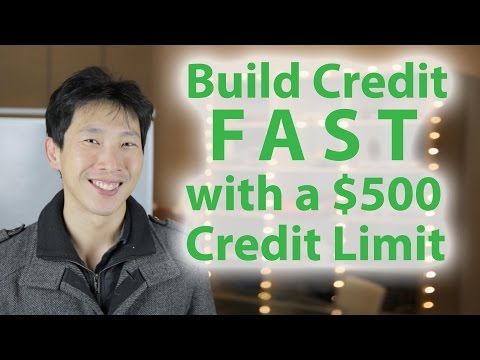 Build Credit Fast with a $500 Credit Limit | BeatTheBush