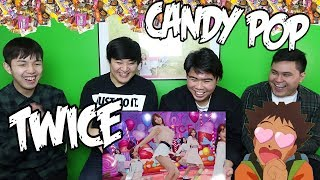 Gambar cover TWICE - CANDY POP MV REACTION (FUNNY FANBOYS)