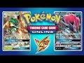 Decidueye GX vs Random Decks - Pokemon TCG Online Game Play