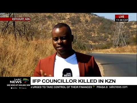 The name of the IFP councillor who was gunned down last night has been released