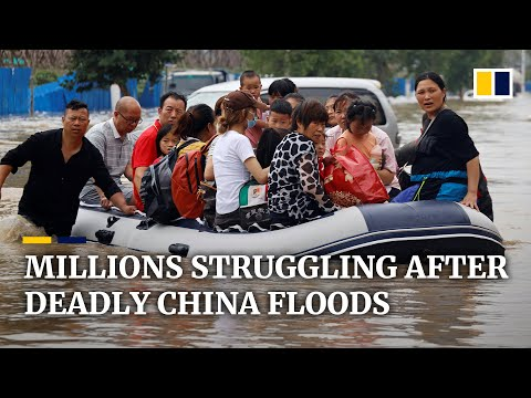 As rains ease in central China, 3 million people still struggling with effects of deadly flooding