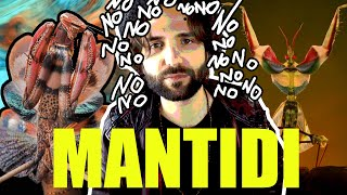 MANTIDE predatore finale - SCIENZA BRUTTA
