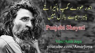 Punjabi Poetry ||  Andar hoye ghup Haneera  ||  Best Punjabi shayari