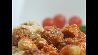 One pot cheesy tortellini & meatballs