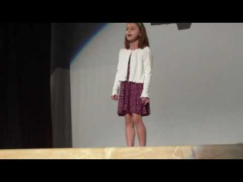 Ava at the talent
