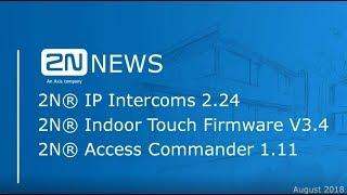 2N News Webinar – IP Solution Update (FW 2.24)