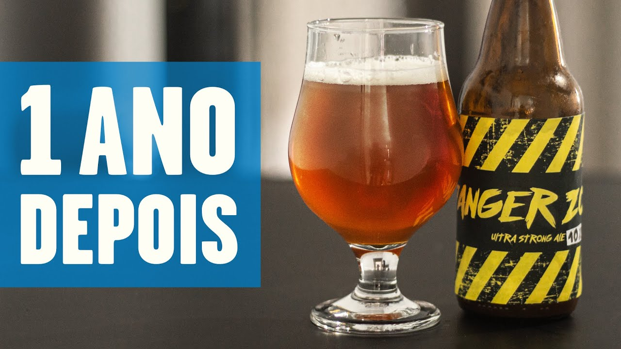 [10%] Ultra Strong Ale: 1 ANO DEPOIS