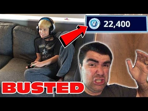 Kid Temper Tantrum Spends $200 And Buys 22,400 V Bucks On Fortnite, Daddy Freaks Out