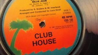 Club House - Do It Again Billie Jean. 1983