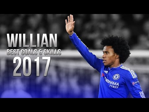 Willian - Best Skills & Goals - Chelsea FC - 2016/2017