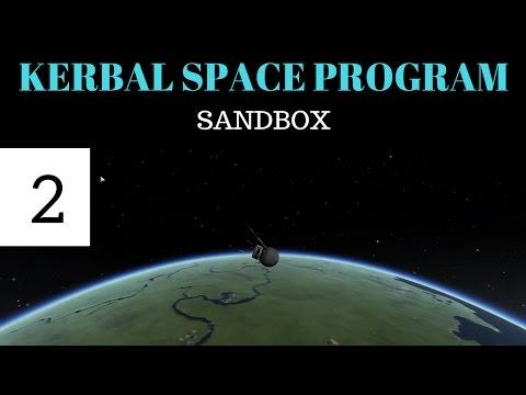 Kerbal Space Program Sandbox (2): Sputnik 1 & 2
