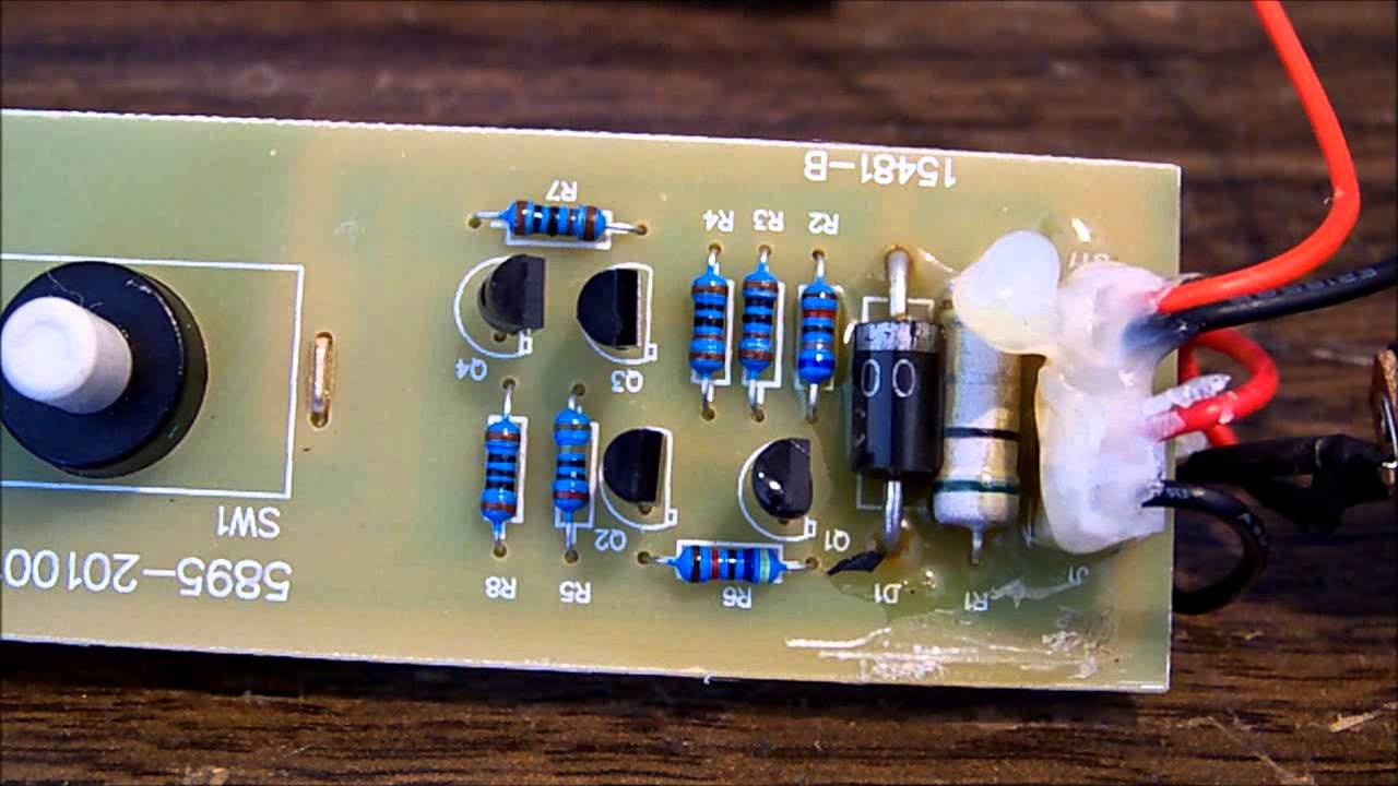 medium resolution of led under bonnet work light repair youtube husky led k40010 wiring diagram