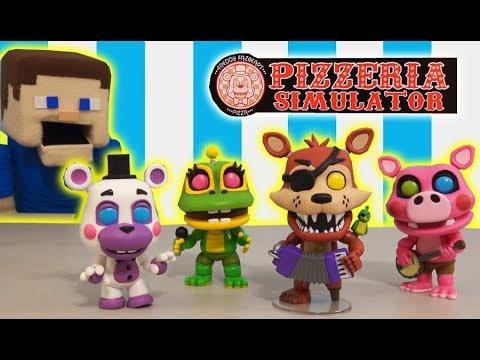 Five Pop At Funko 2 Freddy's Simulator Nights Figures Fnaf Pizzeria hrsdCQt