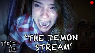 Top 10 Scary Live Stream Stories