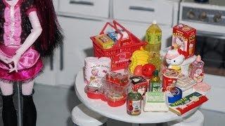Re-ment: Hello Kitty Supermarket - Miniaturas Unboxing