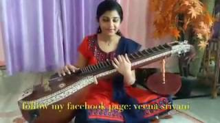 Wahaah! Playing veena for Bombay movie song Andha Arabi Kadaloram