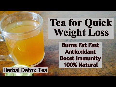 Herbal Detox tea for Weight Loss | How to Make herbal tea to lose Weight |Healthy Natural Spiced Tea