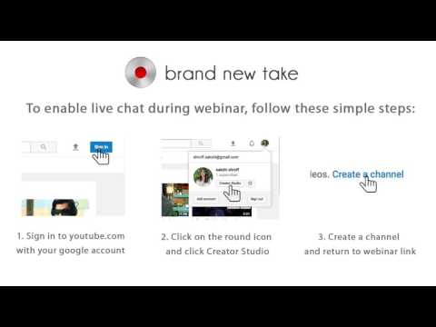 Enable live chat