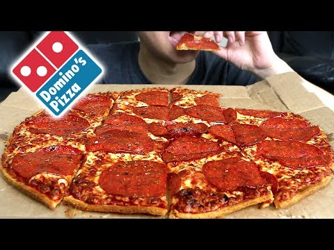 MUKBANG: Domino's Pizza Eating