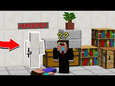 GOKIL! JADI MURDERER MENYAMAR PAKAI SKIN CAMO! - Minecraft Indonesia