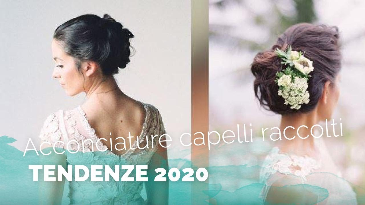 Acconciature Sposa 2019 Tendenze Capelli Raccolti Youtube
